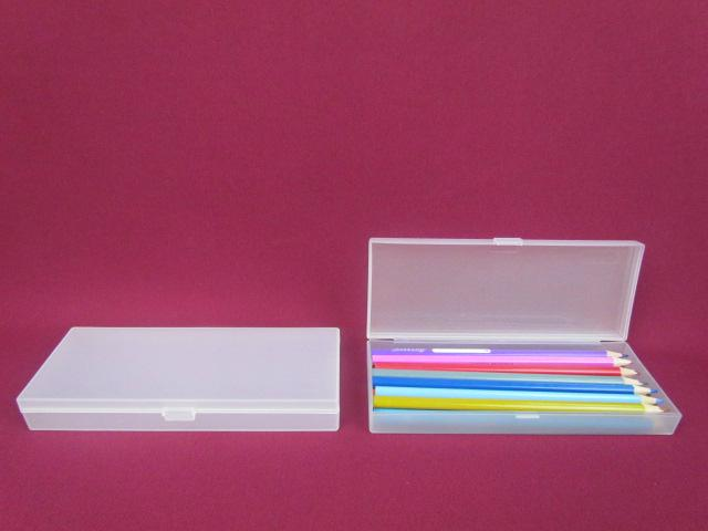 Recyclable Feature and PP Plastic Type pen box pencil box  stationery box 3