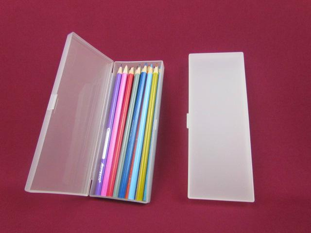 Recyclable Feature and PP Plastic Type pen box pencil box  stationery box 4