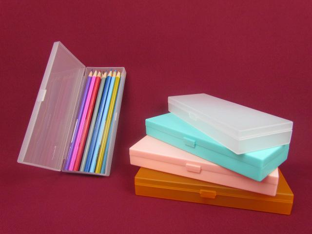 Recyclable Feature and PP Plastic Type pen box pencil box  stationery box 5