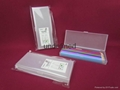 Promotional plastic pen box single ink