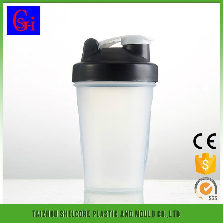 PC shaker bottle bpa free salad shaker cups factory 1