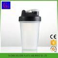 PC shaker bottle bpa free salad shaker