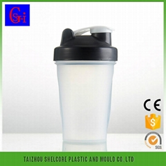 PC shaker bottle bpa free salad shaker cups factory