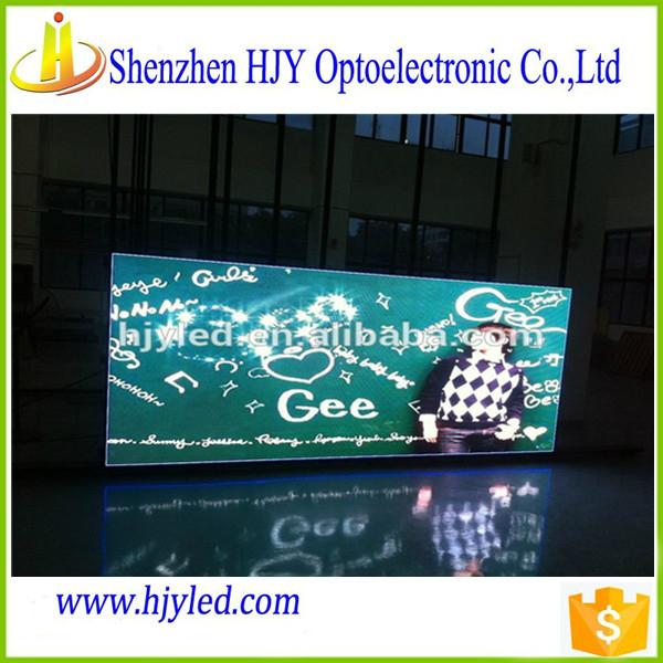 ShenZhen outdoor advertising large led tv p6 led module display 1