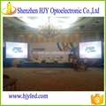 ShenZhen outdoor advertising large led tv p6 led module display 2