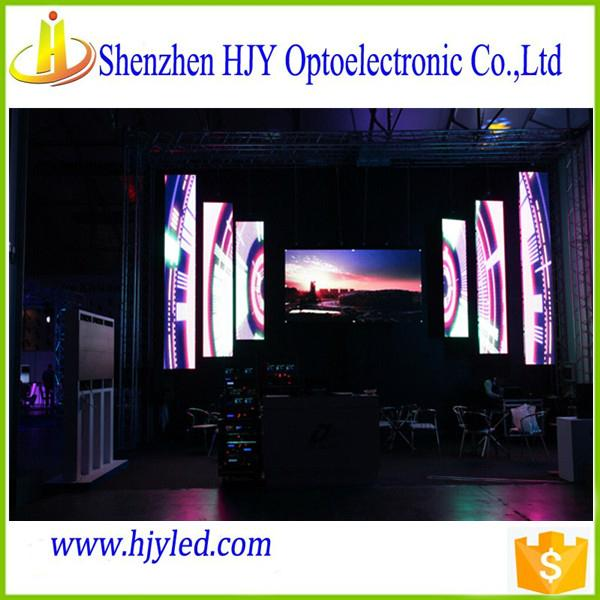 Professional manufacturer p7.62 small led screen display indoor 4