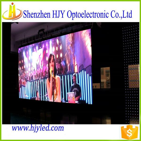 Professional manufacturer p7.62 small led screen display indoor 3
