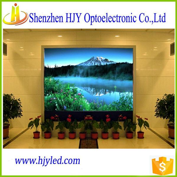 P7.62 full color indoor led display screen video wall cheap price 1
