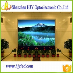 P7.62 full color indoor led display screen video wall cheap price