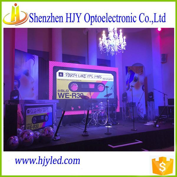 P7.62 full color indoor led display screen video wall cheap price 3