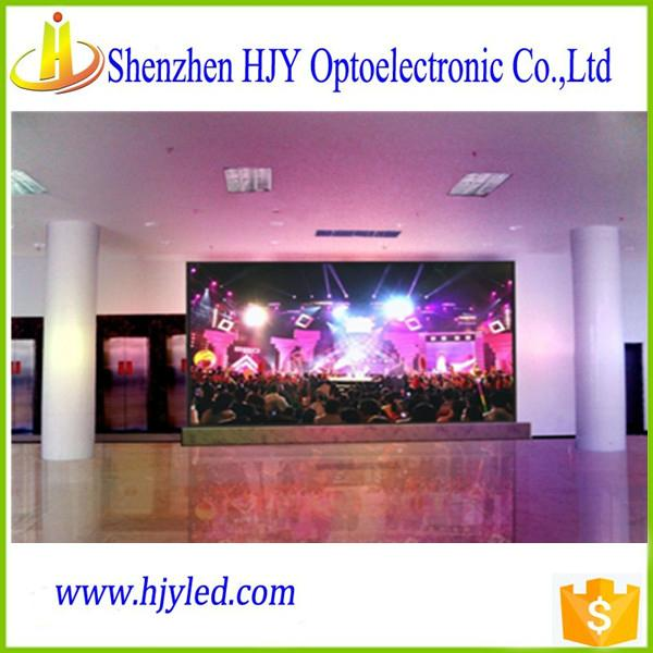 P7.62 full color indoor led display screen video wall cheap price 4
