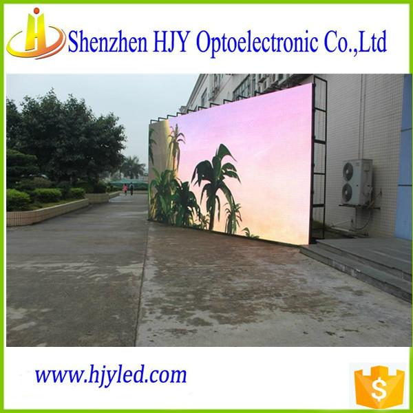 P6 HD outdoor advertising full color led display panel led screen billboard  1
