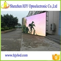 P6 HD outdoor advertising full color led