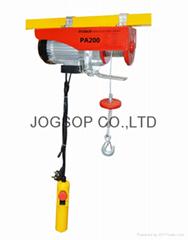 Electric mini hoist Capacity 200kg