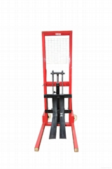 Factory Price Hand Forklift Handling Mini 0.5ton Manual Lift Stacker
