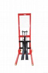 Factory Price Hand Forklift Handling Mini 0.5ton Manual Lift Stacker