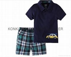 blank kids100% cotton t-shirt kid wear
