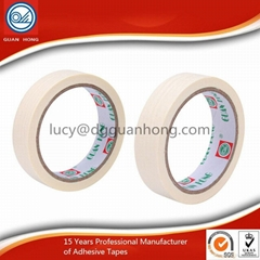 easy removable Decorative Colorful Sticky Automotive crepe paper Masking Tape