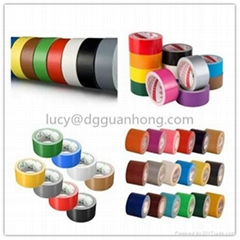 China Heavy Duty Shipping Carton Coloured Cloth Duct tape