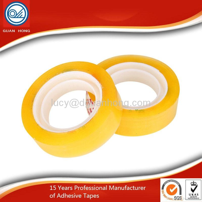 wholesale Transparent Small Tape Office Adhesive Tape 4
