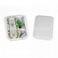 1/2/4 Cores Fiber Optic Desk Termination