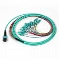 12 Fibers MPO-LC/UPC MM Fiber Optic