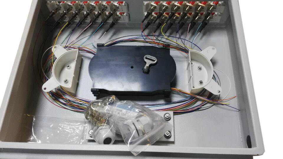 24 ST Cores FTTH/FTTX Fiber Optic Wall Mounted ODF 4