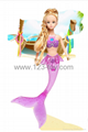 Hot Sell HS Group HaS Barbie Mermaid Barbie sets 1