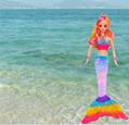 Hot Sell HS Group HaS Barbie Mermaid Barbie sets 3