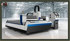 Open Type Single Table Fibre Optic Laser Cutting Equipment