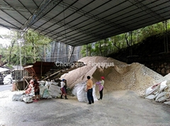 API Grade Barite Lumps for Oil Drilling
