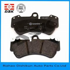 型號D1006-7909低金屬汽車配件剎車片