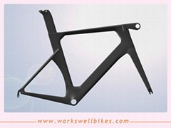 Good quality AERO carbon road bike frame carbon frame road with 2 years warranty