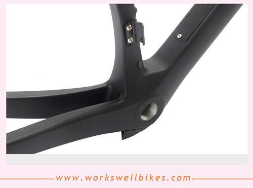 Carbon AERO Road Racing Frameset DI2 System Compatible Carbon Road Bike Frame 4