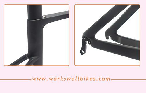 Carbon AERO Road Racing Frameset DI2 System Compatible Carbon Road Bike Frame 5