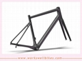 2017 workswell OEM factory newest design China Carbon Frame Endurance Road Bike  4