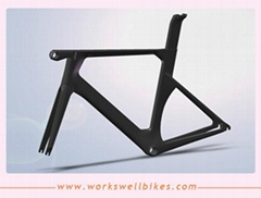 2017 OEM New  AERO carbon road bike frame carbon frame