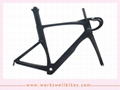 2017 workswell Carbon AERO DI2 System Compatible Carbon Road Bike Frame 1