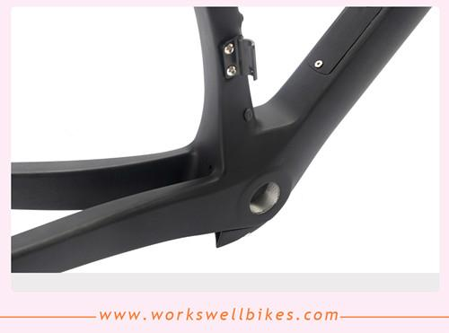 2017 workswell Carbon AERO DI2 System Compatible Carbon Road Bike Frame 4
