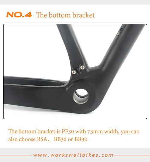 2017 New Toray Carbon Fiber 29ER Carbon Mountain MTB Bicycle Frame PF30 1