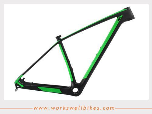 2017 New 29er XS Carbon Fiber Hardtail Mountain Bike Frame with Lightweight 1