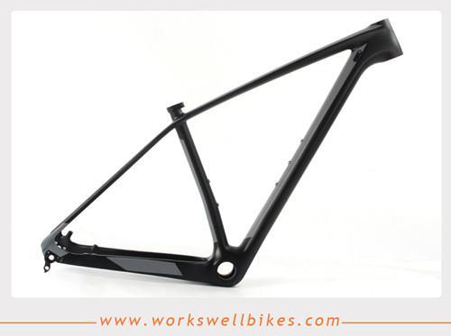 2017 New 29er XS Carbon Fiber Hardtail Mountain Bike Frame with Lightweight 2