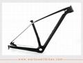 2017 New 29er XS Carbon Fiber Hardtail Mountain Bike Frame with Lightweight 3