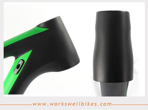 2017 New 29er XS Carbon Fiber Hardtail Mountain Bike Frame with Lightweight 4