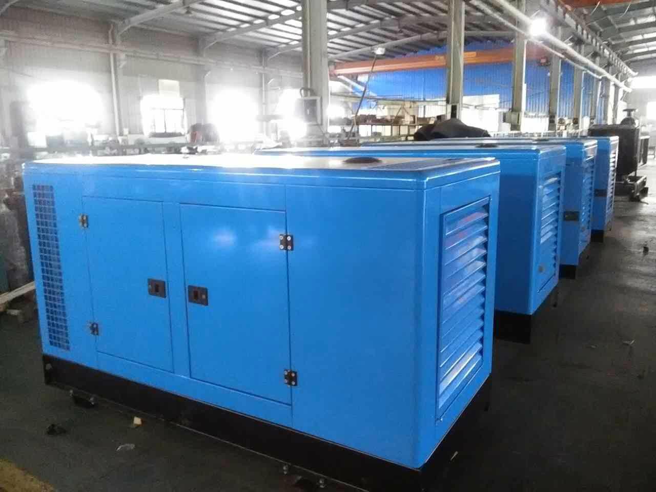 150kw Sound Proof Diesel Power Generator Sets 2