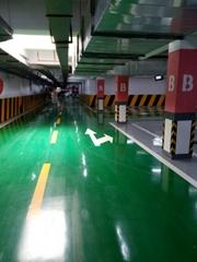 南京地下車庫劃線