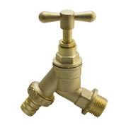 brass bibcock tap water faucet
