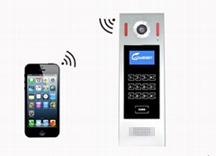 Home automation of GSM wireless video doorbell