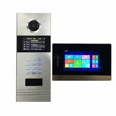 Access control of IP video doorbell