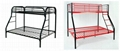 factory supply steel bed,single bed,double-decker bed 1
